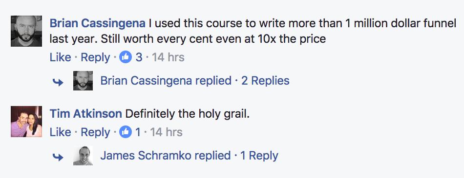 Kudos from Brian Cassingena