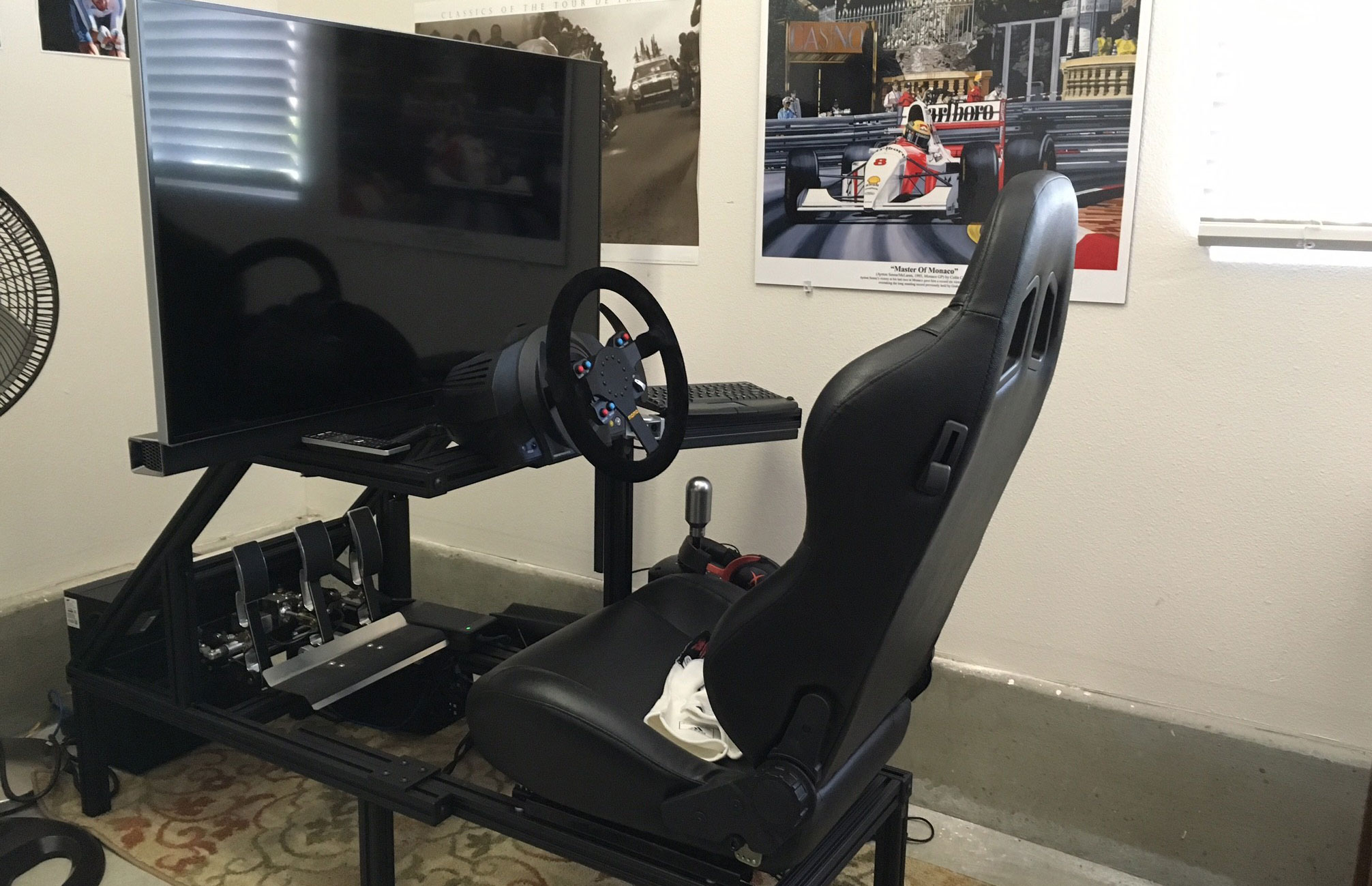 Peter Attia's Racing Simulator