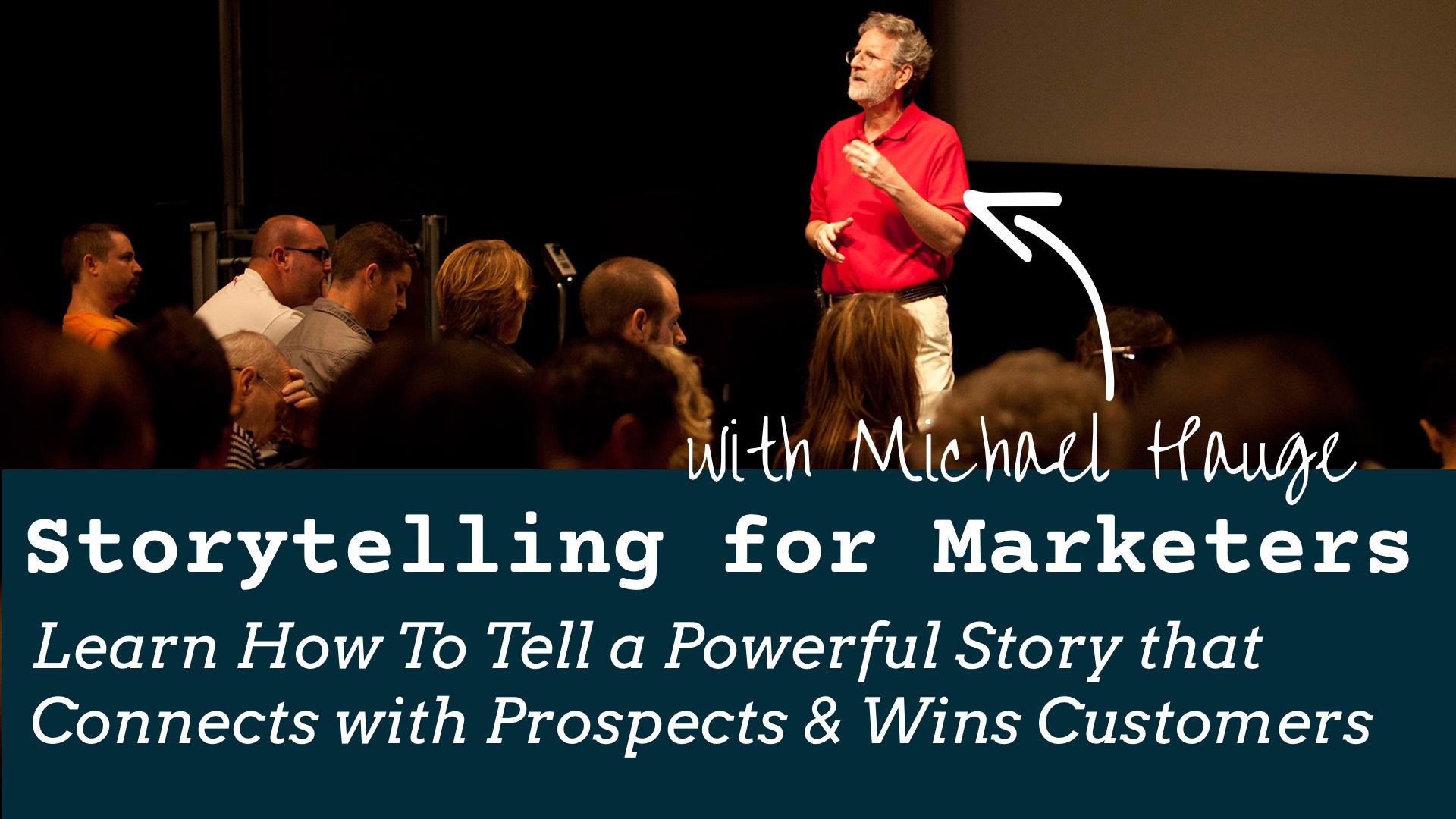 Storytelling for Marketers (SFM)
