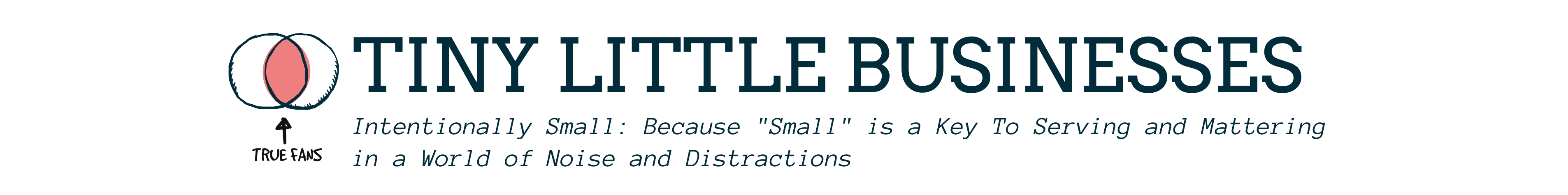 Tiny Little Businesses (TLB) | by André & Anita Chaperon header image
